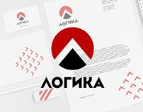 Логотип и фирменный стиль  компании ЛОГИКА