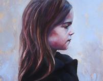 """Paige"" Oil on canvas"
