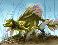 Creature Design - Anphibian