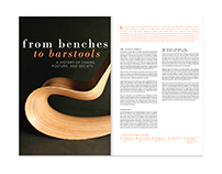From Benches to Barstools Editorial