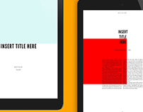 Adobe InDesign Templates: Free + Curated Collection