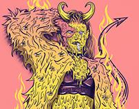 Saca El Diablo SED | Music Festival Brand Identity