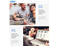 Edge WordPress Theme - More Services Section