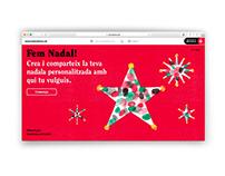 Fem Nadal! Web Design