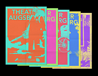 Theater Augsburg, Plakate Schauspiel