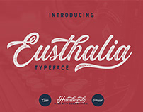 Eusthalia Typeface | Free Download