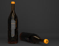Magma Whisky Branding and Packaging