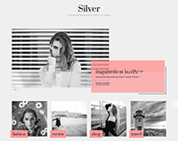 Silver WordPress Fashion Designer Theme