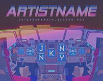 Musician artwork example