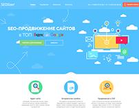 Landing Page of top3-seo.ru