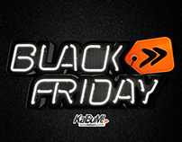 KaBuM! - 3D Logo Black Friday