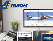 TAROM - Portfolio WEB Design