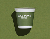 SLAB TOWN COFFEE — Visual Identity