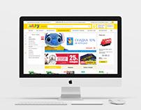 Проектировка и дизайн интернет-магазина Read.ru