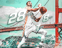 NBA Art | Stephen Curry | Stats | Game 5