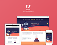 Adobe Mars: Thematic Web Design