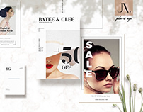 Postcard Fashion Flyers