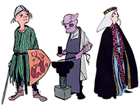 12th Century Medieval Characters