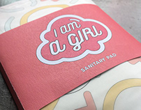 I am A Girl (Sanitary Pad Packaging)