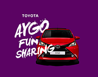Toyota Aygo Fun Sharing