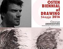 My work in Osten Biennial of Drawing 2016