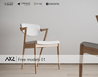 AX2 STUDIO - FREE MODELS 01, CHAIR N42