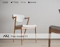 AX2 STUDIO - FREE MODELS 01, CHAIR N42