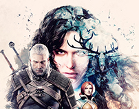 The Witcher 3: Wild Hunt - Fan Poster