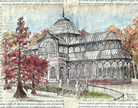Travel Sketches - Madrid, Spain