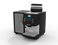 Cimbali M1 office coffee machine animation