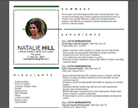 Resume Layout 1