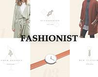 Fashionist is a minimalistic shopping wordpress theme