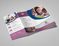 School Trifold Brochure