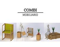COMBI Muebles modulares compactos multifunción