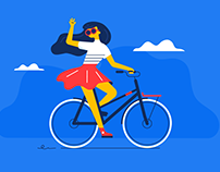 Vigi app illustrations