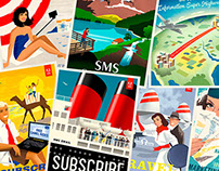 Adobe Marketing Cloud postcards