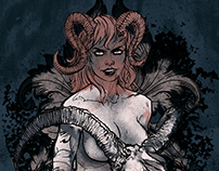 Succubus - poster illustration