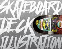 Skateboard Deck Illustrations