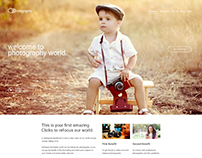 landing page | photography