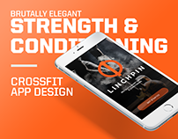 CrossFit Fitness App Design