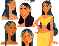 colombian girl character research