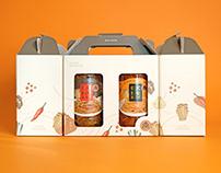 萬生|黃金茸禮盒設計