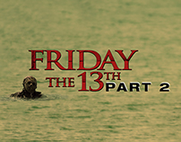 Friday the 13th: Part 2 | Theatrical Poster Concept