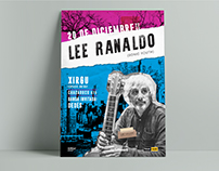 Lee Ranaldo in Argentina, poster.
