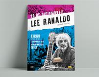 Lee Ranaldo in Argentina, poster.