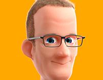 Pete Docter in CGI