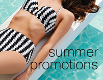 DM / Cartelettre - Summer Promotions SS16