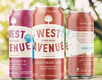 West Avenue Cider Can Design