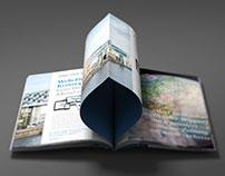 Imagebroschüre für das Medienhaus DuMont Rheinland