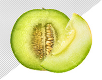 Free Melon Transparent PNG Pack